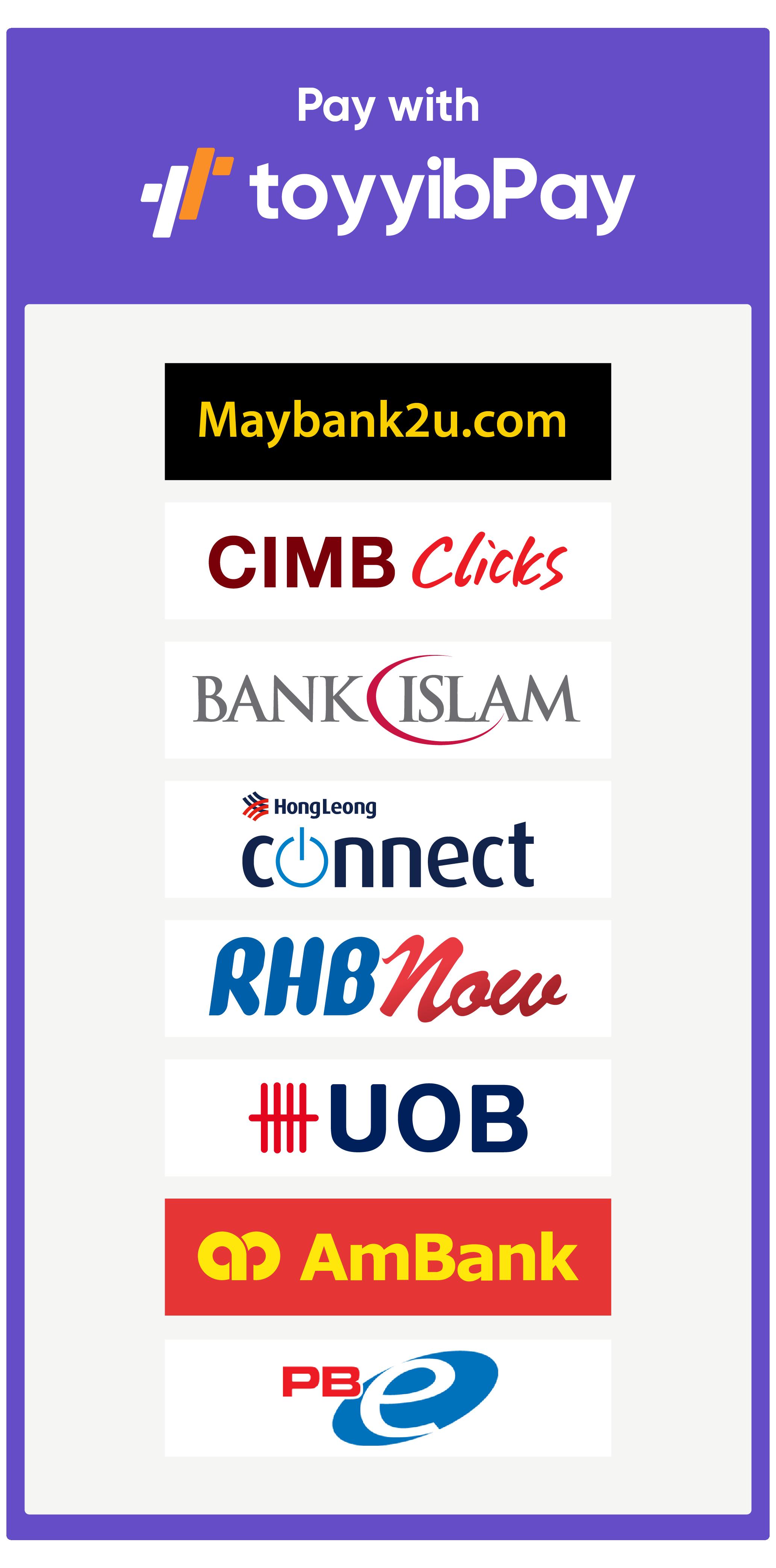 Bayar Secara Online Banking